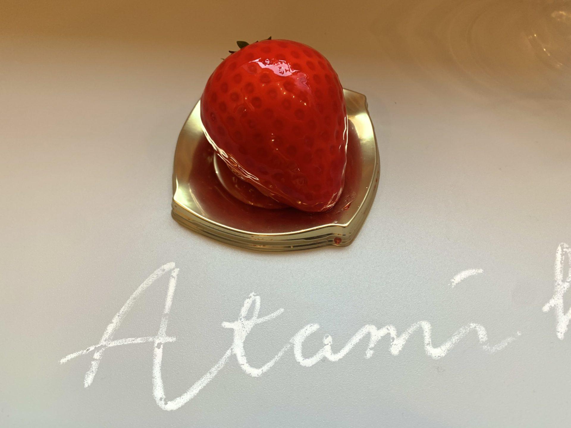 いちごBonBonBERRY ATAMI HOUSE. いちごのババロア