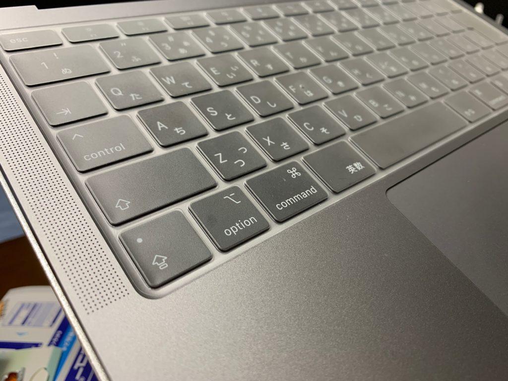 Macbook Air キーボードカバー
