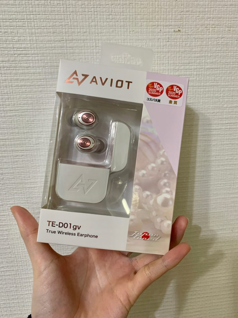 AVIOT TE-D01gv イヤホン