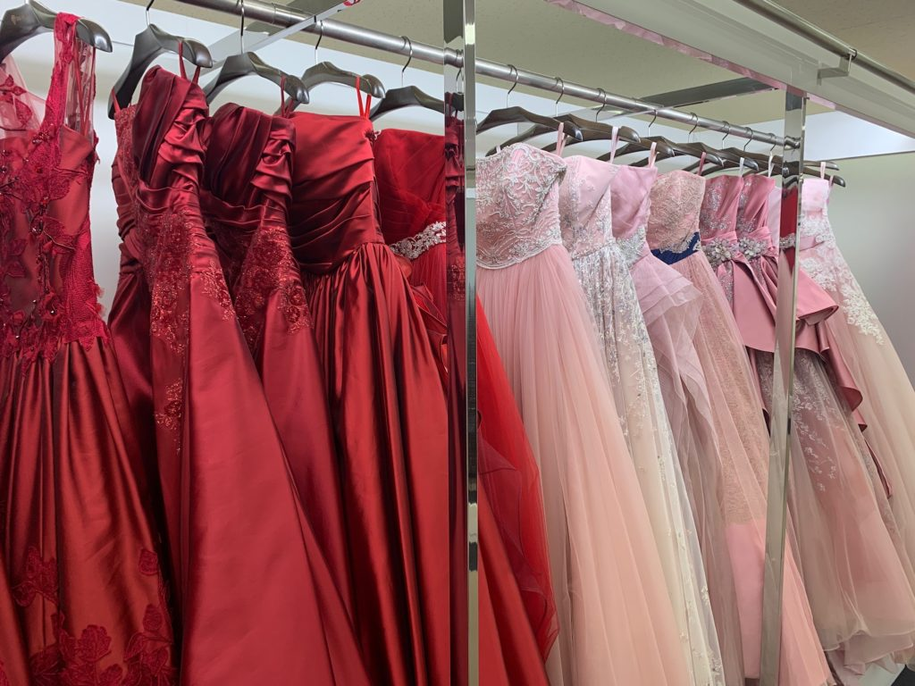 結婚式衣装選び